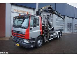 container truck DAF FAN 75 CF 250 Palfinger 21 ton/meter laadkraan 2002