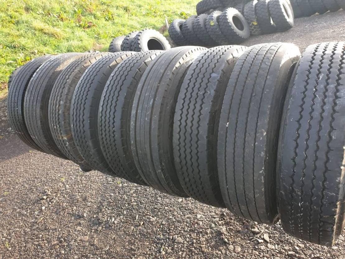 Diversen 9.9R9_9G_Marken Reifen _TT_Tiefladerreifen_Anhänger_9% Profi   Tyres truck part - TrucksNL