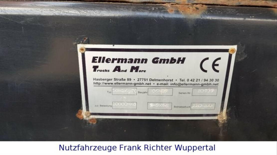 container truck MAN 26.400 6x4,Ellermann Tüv frei 1 Hd Dfzg