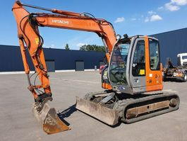 mini digger crawler Hitachi ZX 85 US3   ROTATION HAMMER 2007