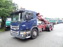 swap body truck Scania P310 6X2*4 SEILABROLLER 2008