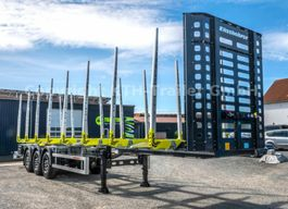 timber semi trailer KAESSBOHRER Holztransporter / Timber Carrier SHF-H13