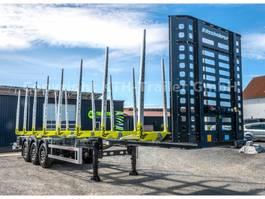 timber semi trailer KAESSBOHRER Holztransporter / Timber Carrier SHF-H13