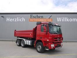 tipper truck > 7.5 t Mercedes-Benz 2646 Actros, MP3, 6x4, Meiller 3 Seitenkipper, AHK, Klima, Retarder, Tempomat, Blatt 2010