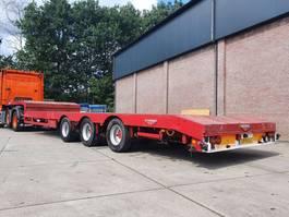 semi lowloader semi trailer Broshuis BROSHUIS /E-2190/27 2004