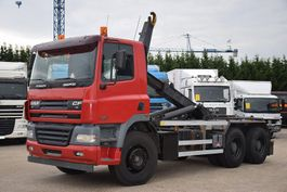 container truck DAF CF85-430 6X4  CONTAINER SISTEEM- CONTAINER SYSTEEM- CONTAINER HAAKSYSTEEM- SISTEME CONTENEUR 2006