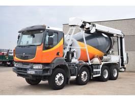 concrete mixer truck Renault KERAX 410 DXI    TAPIS 13 METER 2009