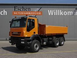 tipper truck > 7.5 t Iveco AD 260 T 41 W, 6x6, Trakker, Euro 5, Automatik, AHK, 10 m³ Aluaufbau, AHK, Blatt 2010
