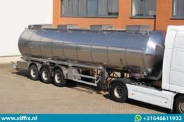 Tankauflieger Auflieger Parcisa 3-ass. Geïsoleerde RVS tank oplegger // Levensmiddelen // 1 compartiment 36.000 liter! 1997