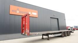 container chassis semi trailer Van Hool 40FT (4 new twist-locks), SAF INTRADISC, hardwoodenfloor, galvanized, NL-trailer 2007