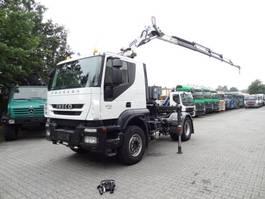 Standard SZM Iveco TRAKKER 410 mit COPMA 16 T/M Kran 2012
