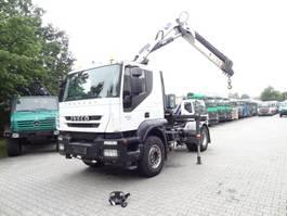 crane truck Iveco TRAKKER 410 COPMA 160.5 2012
