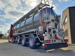 tank semi trailer semi trailer Van Hool 3-ASSIGE OPLEGGER 2020