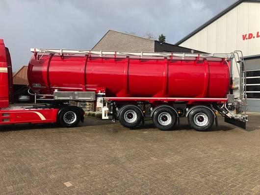 semirremolque semirremolque cisterna Van Hool 3-ASSIGE OPLEGGER 2020