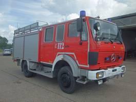 other trucks Mercedes-Benz 1222 AF LF 16 DoKa 4x4 AHK SFZ FEUERWEHR 1985