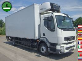refrigerated truck Volvo FL-4X2R Carrier Supra 850 Mt LBW KLIMA Trennwand 2011
