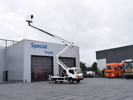 mounted boom lift truck Nissan Cabstar 35.13 B rijbewijs + Socage  DA 22 (Hoogwerker) 2010
