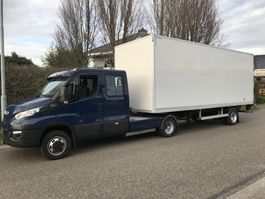 Minisattel Auflieger kuiper BE oplegger 4820 kg laadvermogen , meubelbak , 2014
