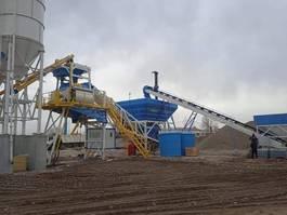 concrete batching plant Promax M120-TWN Mobile Concrete Batching Plant 2021