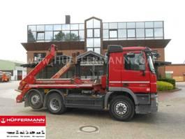 container truck Mercedes-Benz Actros 2544 6x2-4 BL E5 Meiller AK 16 MT 2015