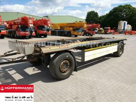 loading ramp full trailer Schmitz Cargobull 2-achs Abrollanhänger / ACF 18 2012