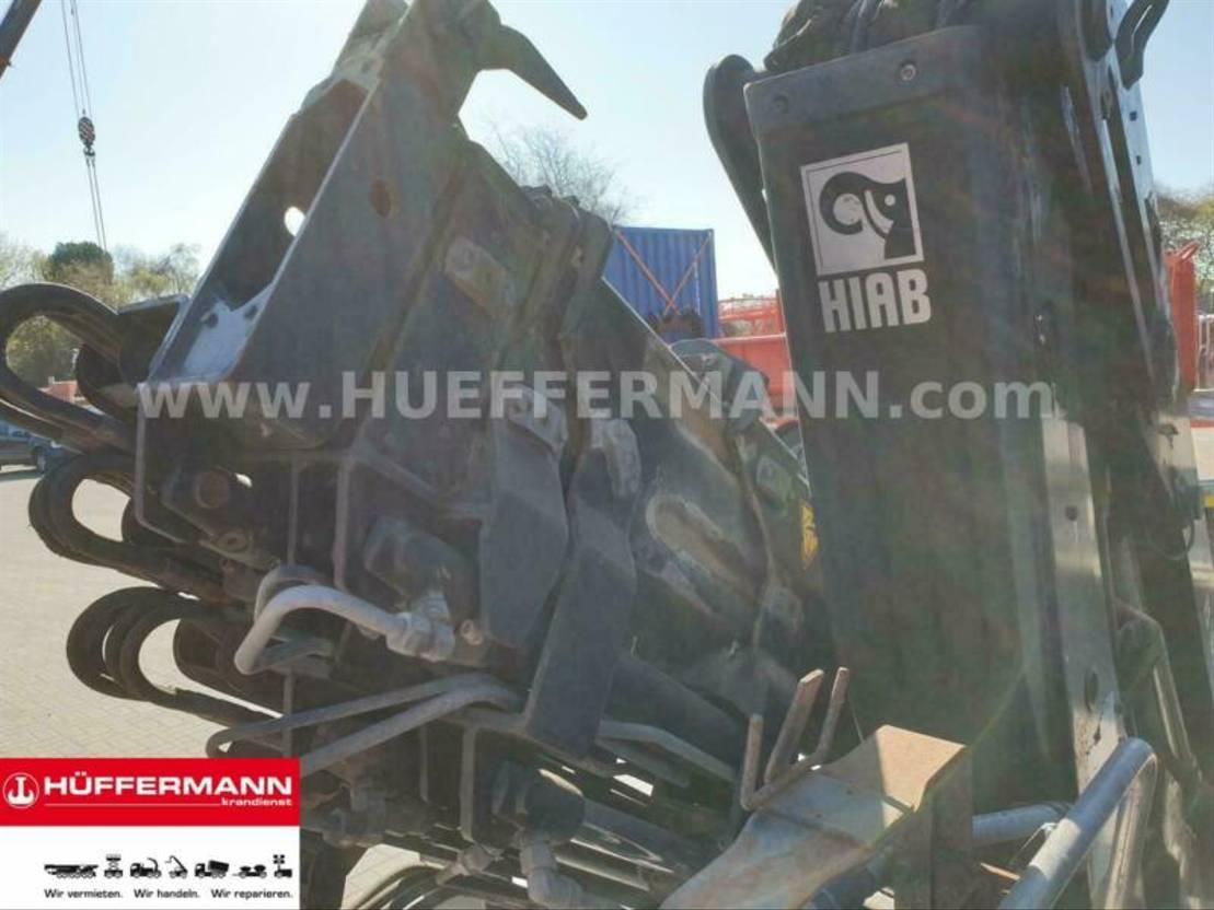 container truck Mercedes-Benz GARANT Abrollbehälter HIAB Ladekran 166 E4 HiDuo 2020