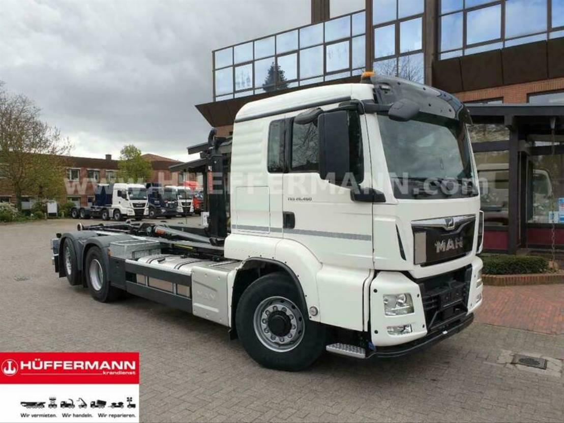 container truck MAN 26.460 6x4H-4 BL Multilift U 21 S61 Abrollkipper 2019