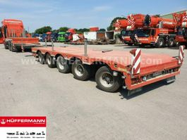 lowloader semi trailer Lintrailers 5-achs Tele-Semi-Tieflader / S5A 2015