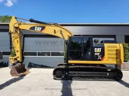 crawler excavator Caterpillar 323FL  machine like new 2017