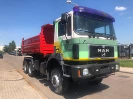 tipper truck > 7.5 t MAN 33-403 1997
