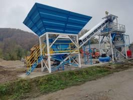 concrete batching plant Promax C60-SNG-PLUS Compact Concrete Batching Plant 2021