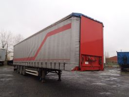sliding curtain semi trailer Pacton schuifzel/schuifdak 2001