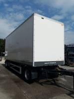 geschlossener Kasten Anhänger Lecitrailer Gesloten trailer met roldeur en schijfremmen