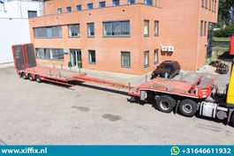 semi lowloader semi trailer Nooteboom 3-ass. Uitschuifbare semi dieplader met dubbele hydr. kleppen // 3x gestuurd 2013