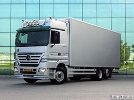 closed box truck > 7.5 t Mercedes Benz ACTROS 2546 6X2 EURO 5    455k KM  TAIL LIFT   TOP CONDITION    810 x 24... 2007