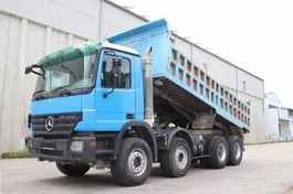tipper truck > 7.5 t Mercedes-Benz Actros 4141  8x4 E5 Retarder EPS 3 Pedale Leasing 2008