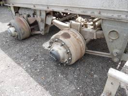 Rear axle truck part SAF 2 assen bladgeveerd compleet onderstel