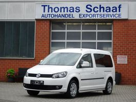 wheelchair transport lcv Volkswagen Caddy Maxi 2.0 EcoFuel/CNG Rollstuhlrampe Klima Euro 5 2012