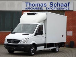 refrigerated closed box lcv Mercedes Benz Sprinter 515 Cdi Carrier Tiefkühlkoffer -29 3.5t Euro 4 2007