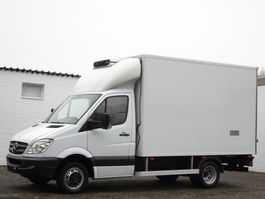 refrigerated closed box lcv Mercedes-Benz Sprinter 515 Cdi Carrier Tiefkühlkoffer -29 3.5t Euro 4 2007