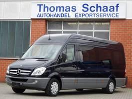 autocarro táxi Mercedes Benz Sprinter 315 Cdi Maxi V.I.P. Reisebus 9 Personen Klima Leder Euro 4 2010
