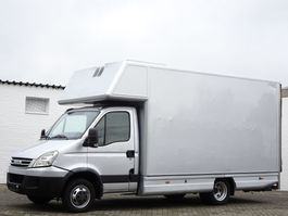 closed box truck Iveco Daily 35C15 Hpi Koffer LBW Klima 3.5 t Euro 4 2008