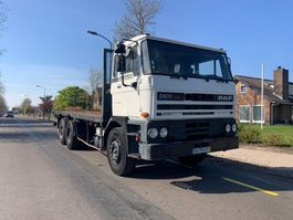 platform truck DAF 2900 ATI 6x4 STEEL SPRING MANUAL ZF GEARBOX 2800 3200 3300 3600 1990