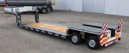 Tieflader Auflieger Rojo Trailer Extra-low bed loader 2 axles. Pendel GRS2 (1X) 2020