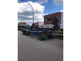 container chassis trailer GS Meppel 3 asser container aanhanger 1995