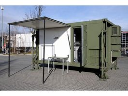 caravan UNUSED Container house with Air filter / no-virus clear air 2020