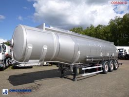 Tankauflieger Auflieger Maisonneuve Fuel tank inox 37.6 m3 / 7 comp 2004