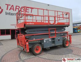 scissor lift wheeld Skyjack SJ9250 Diesel 4x4 Scissor Work Lift 1720cm 2014