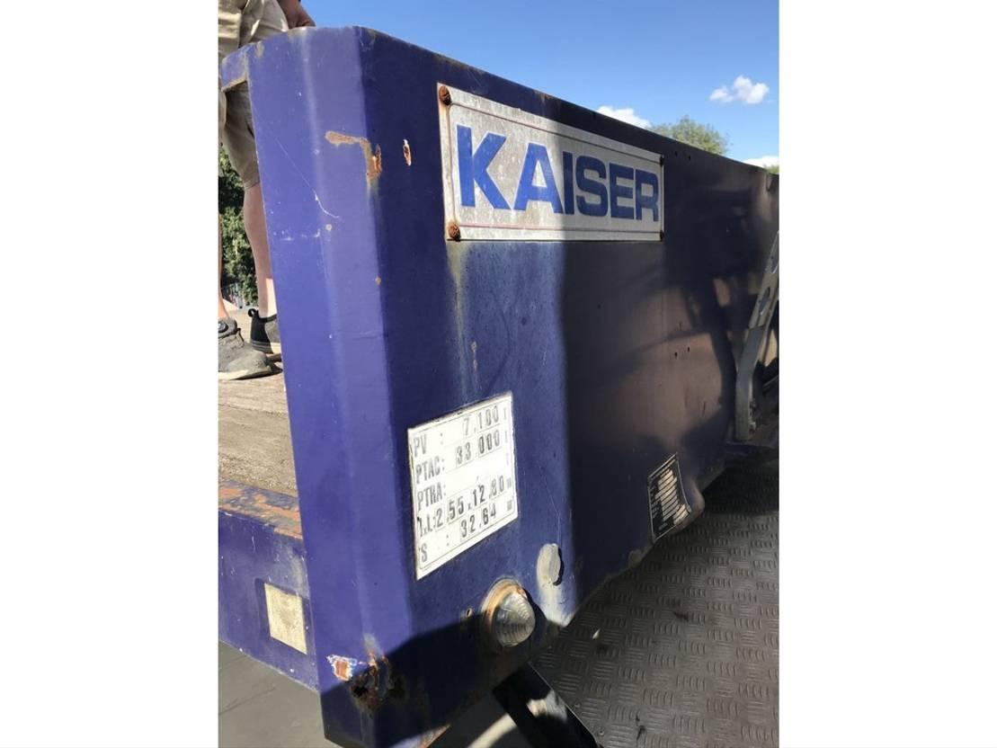 Tieflader Auflieger Kaiser **PORTE ENGIN-LOWLOADER-LAMES-FULL STEEL** 2000