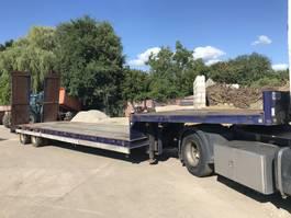 lowloader semi trailer Kaiser **PORTE ENGIN-LOWLOADER-LAMES-FULL STEEL** 2000